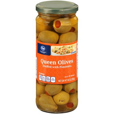 Kroger Queen Stuffed with Pimiento Olives