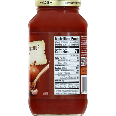 Signature Kitchens Pasta Sauce with Meat, Traditional
