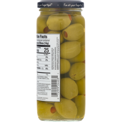 Pearls Pimiento Stuffed Queen Olives