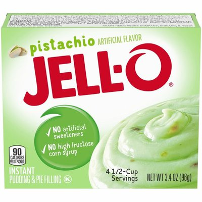 Jell-O Pistachio Instant Pudding & Pie Filling Mix