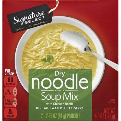 Signature Kitchens Soup Mix, Noodle, Dry