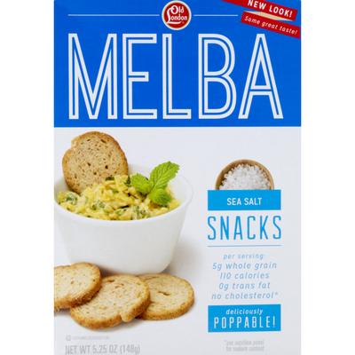 Old London Sea Salt Melba Snacks