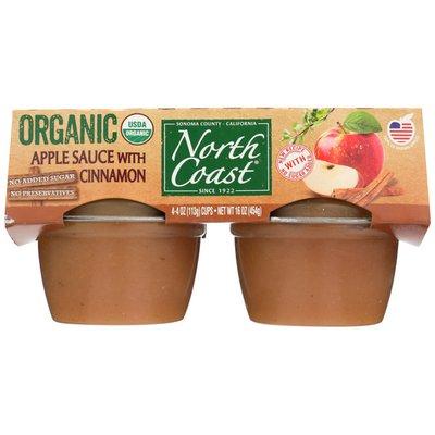 North Coast Organic Cinnamon Apple Sauce