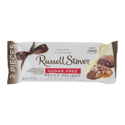 Russell Stover Sugar Free Pecan Delight - 2 CT