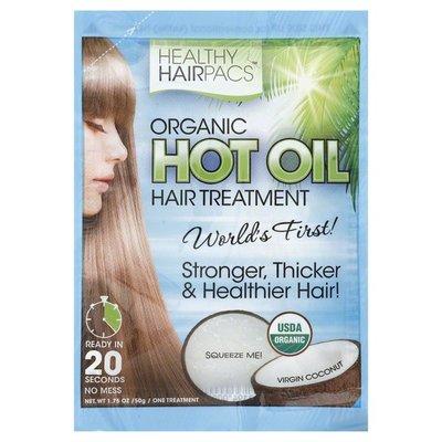 Healthy Hairpacs Hot Oil Hair Treatment, Organic