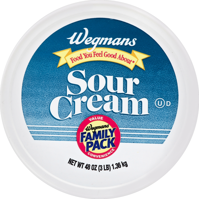 Wegmans Food You Feel Good About Sour Cream, FAMILY PACK