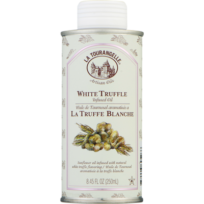 La Tourangelle Sunflower Oil, White Truffle Infused, Can