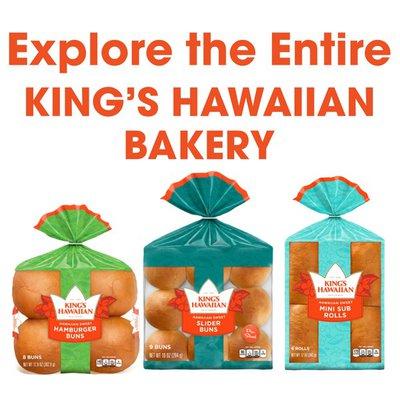 King's Hawaiian Sweet Hot Dog Buns