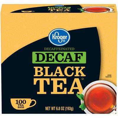 Kroger Decaf Tea