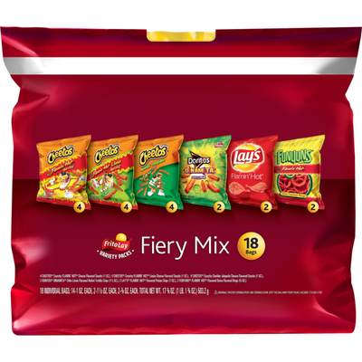 Frito Lay's Fiery Mix Snacks