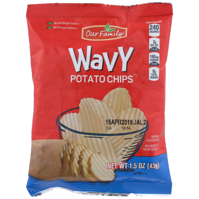 Our Family Wavy Potato Chips