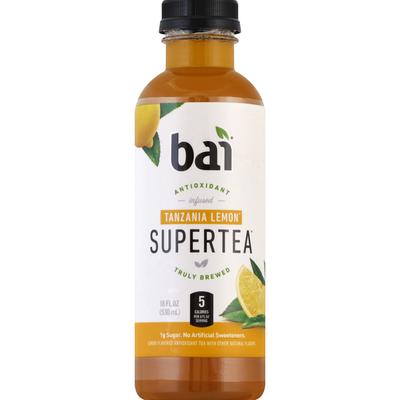 Bai Supertea Antioxidant Supertea Tanzania Lemonade Tea