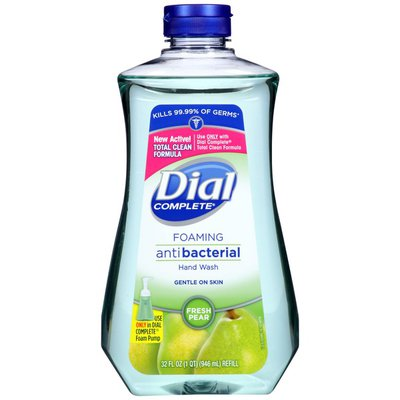 Dial Complete Antibacterial Foaming Hand Wash Refill, Fresh Pear