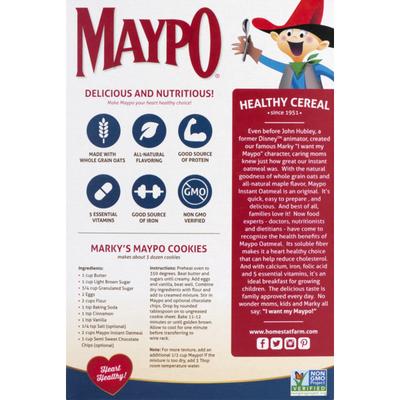 Maypo Instant Oatmeal Maple