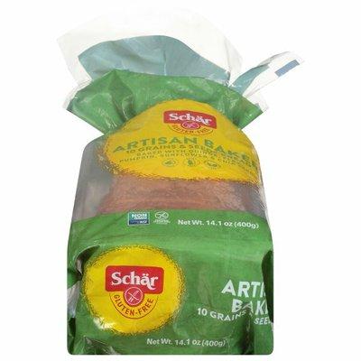 Schar Bread, Gluten-Free, 10 Grains & Seeds, Artisan Baker