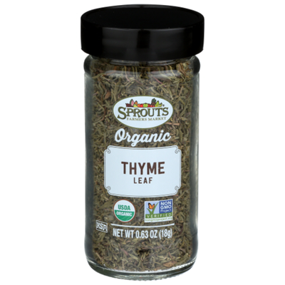Sprouts Organic Whole Thyme Leaf Spice