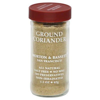 Morton & Bassett Spices Coriander, Ground
