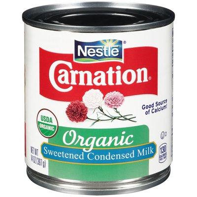 CARNATION Organic Sweetened CARNATION Organic Sweetened Condensed Milk
