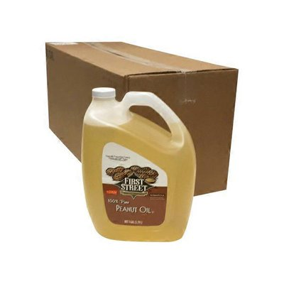 First Street Case Of Pure Peanut Oil