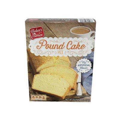 Baker's Corner Pound Cake