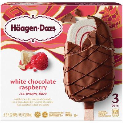 Haagen-Dazs White Chocolate Raspberry Ice Cream Bars