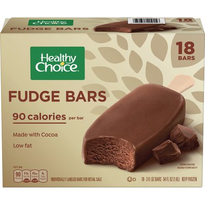 Healthy Choice Premium Fudge Bars
