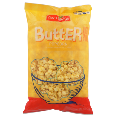 Our Family Butter Popcorn