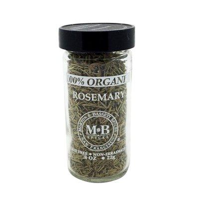 Morton & Bassett Spices Rosemary, 100% Organic