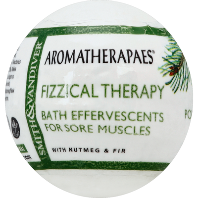 Aromatherapaes Bath Effervescents, for Sore Muscles, Fizzical Therapy