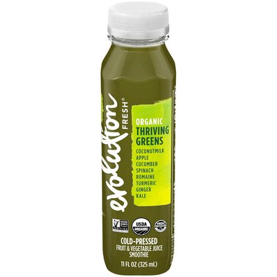 Evolution Fresh Organic Thriving Greens Cold-Pressed Fruit & Vegetable Juice Smoothie