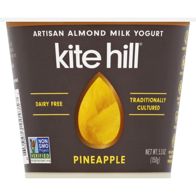 Kite Hill Yogurt, Artisan Almond Milk, Pineapple