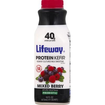 Lifeway Protein Kefir, Mixed Berry