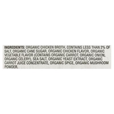 O Organics Broth, Organic, Chicken, Family Size