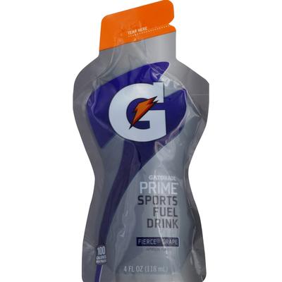 Gatorade Prime Sports Fuel Drink Fierce Grape