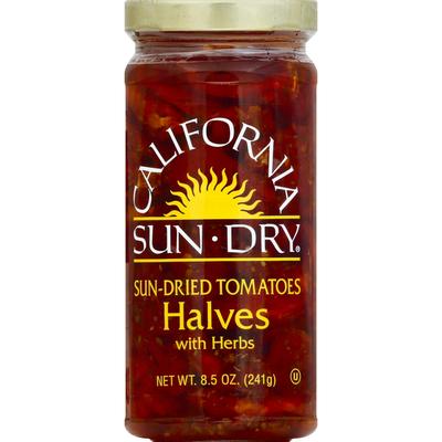 California Sun Dry Sun-Dried Tomato Halves in Oil