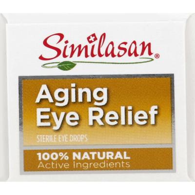 Similasan Eye Relief, Aging, Eye Drops