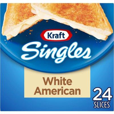 Kraft White American Cheese Slices