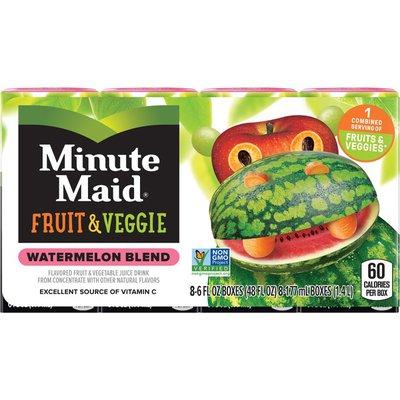 Minute Maid Watermelon Blend Fruit & Veggie Juice Drink