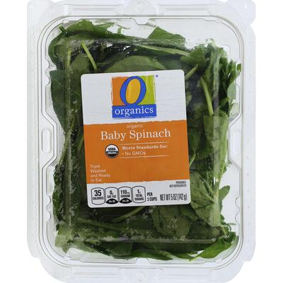 O Organics Spinach, Organic, Baby