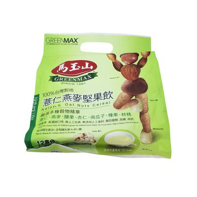 Greenmax Adlay & Oat Nuts Cereal