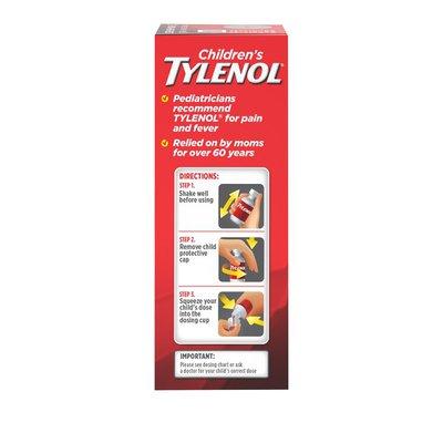 TYLENOL Oral Suspension, Strawberry