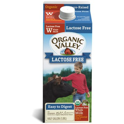 Organic Valley Ultra Pasteurized Organic Lactose Free Whole Milk