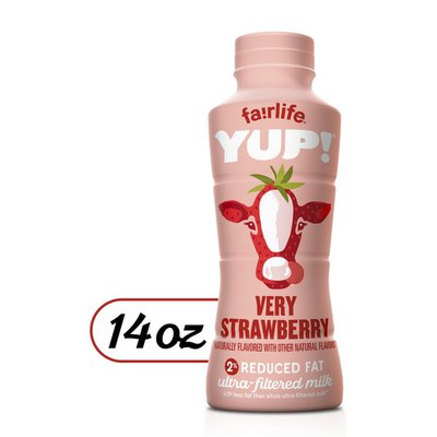 fairlife Yup! Very Strawberry 1% Ultra-Filtered 14Fo Pet Single
