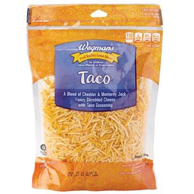 Wegmans Fancy Shredded Taco Cheese