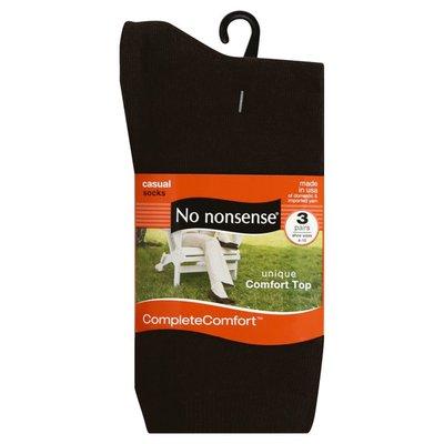 No Nonsense Socks, Casual, Assorted