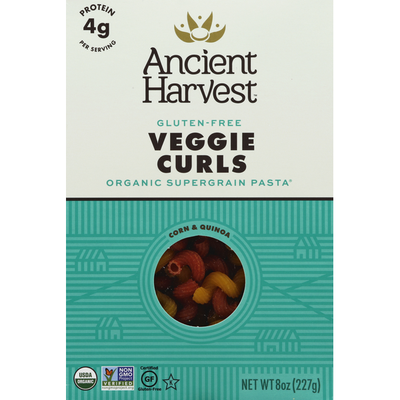 Ancient Harvest Veggie Curls, Gluten-Free, Corn & Quinoa