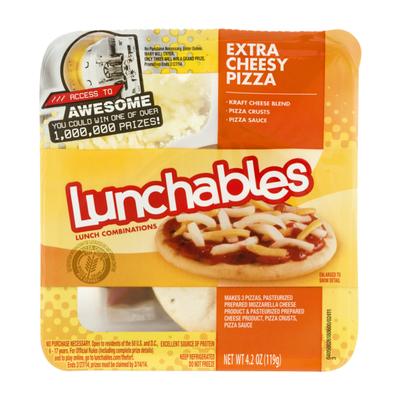 Lunchables Extra Cheesy Pizza Meal Kit