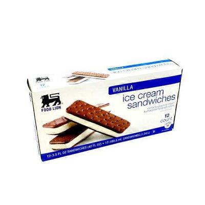 Food Lion Ice Cream Sandwiches