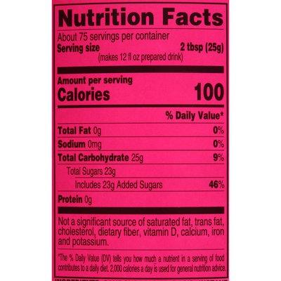 4C Foods Raspberry Iced Tea Mix