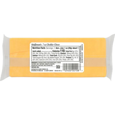 Hoffman'S 2 Year Aged Yellow Cheddar Cheese